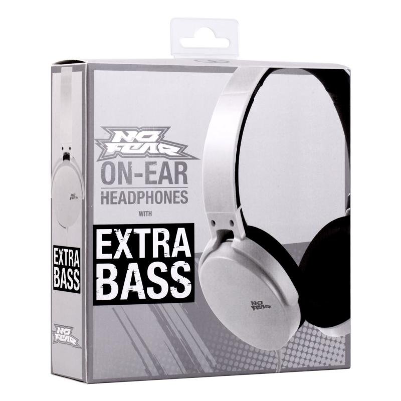No Fear Core Headphones White