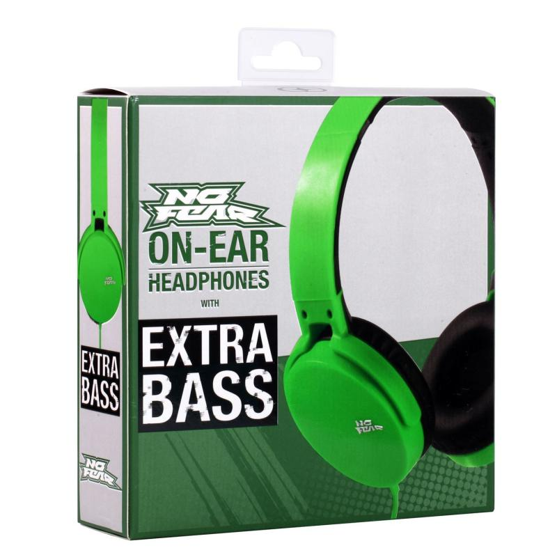 No Fear Core Headphones Green