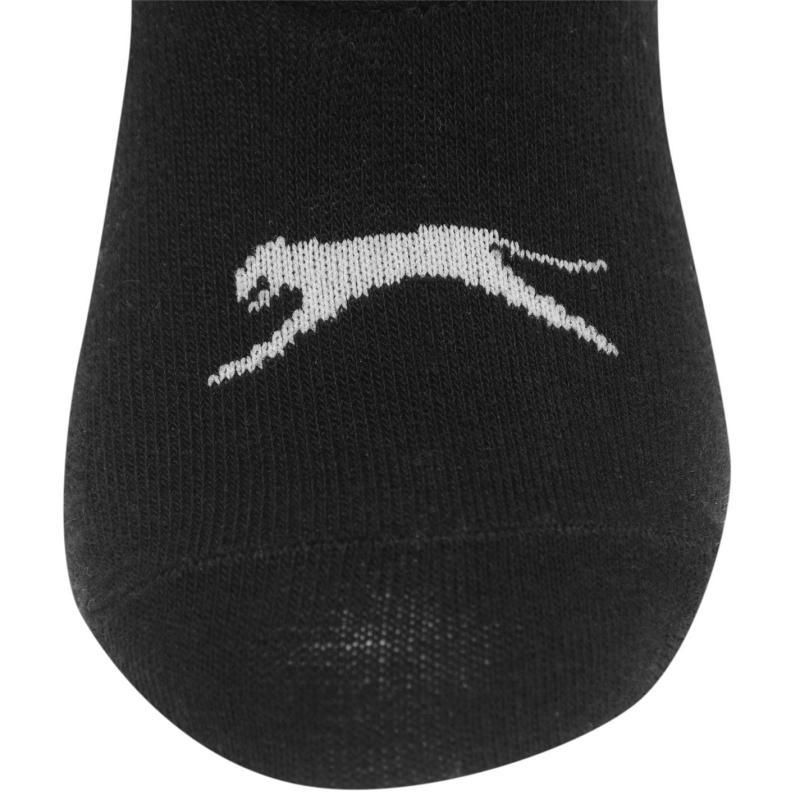 Ponožky Slazenger 5 Pack Invisible Socks Mens White