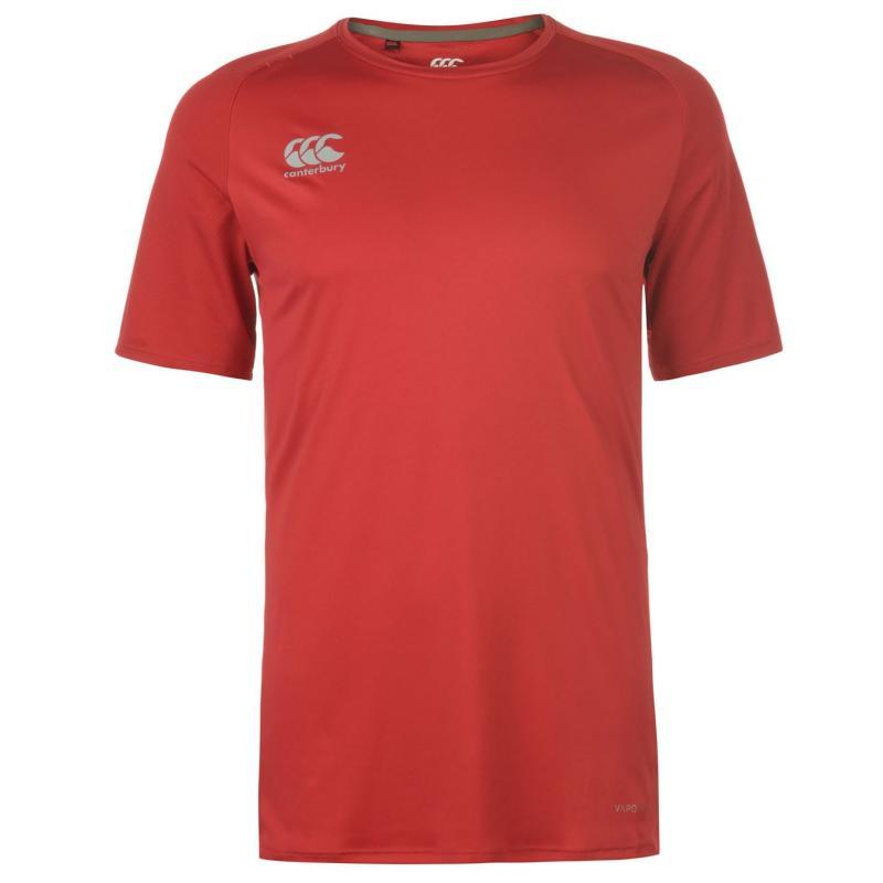 Tričko Canterbury SupLight T Shirt Mens Red
