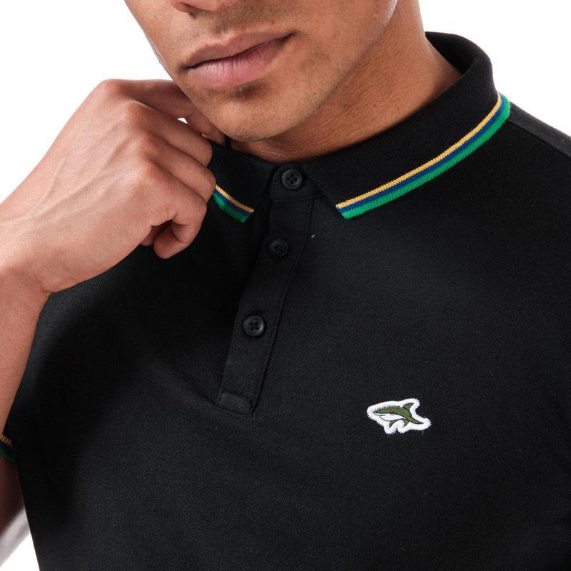 Le Shark Mens Milligan Polo Shirt Black