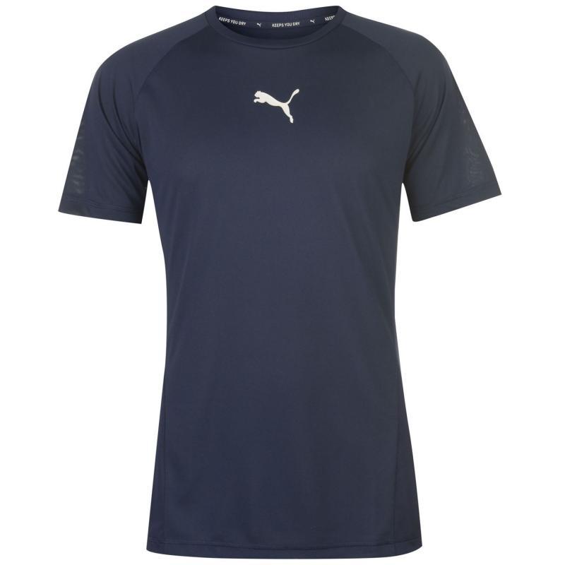 Tričko Puma Technical Sports T Shirt Mens Peacoat