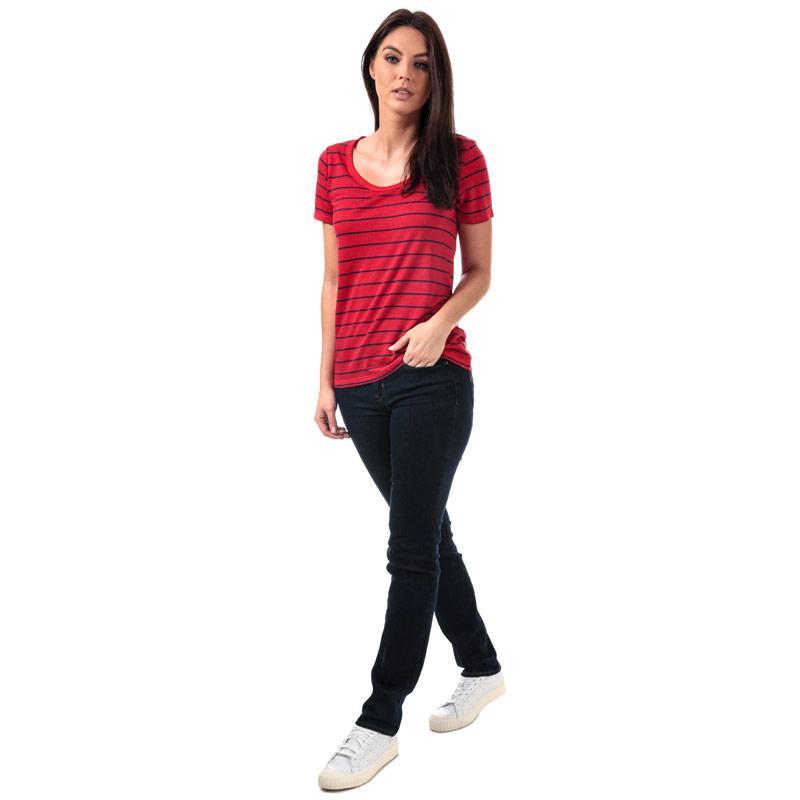 Levis Womens Cali T-Shirt Red