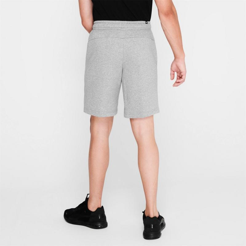 Puma No 1 Shorts Mens Med Grey