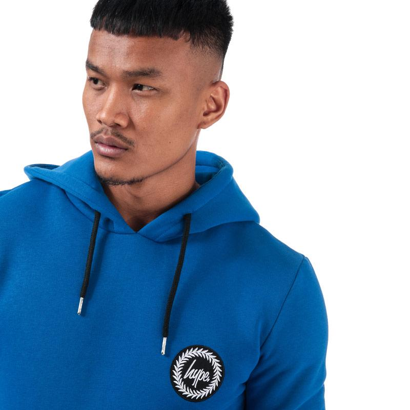 Mikina Hype Men's Crest Pullover Hoody Blue