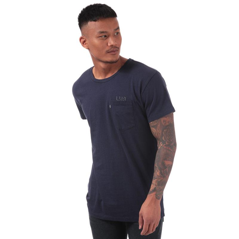Tričko Levis Mens Line 8 Longline T-Shirt Blue