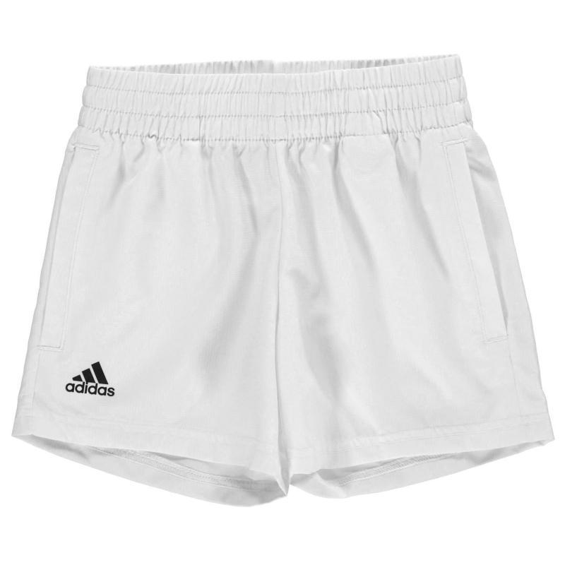 Adidas Boys Tennis Club Climalite Shorts White/Black