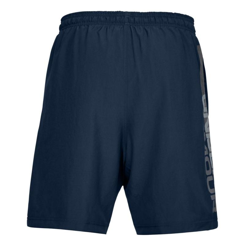 Under Armour Woven Graphic Shorts Mens Navy