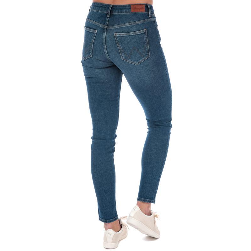 Wrangler Womens Body Bespoke Skinny Jeans Denim