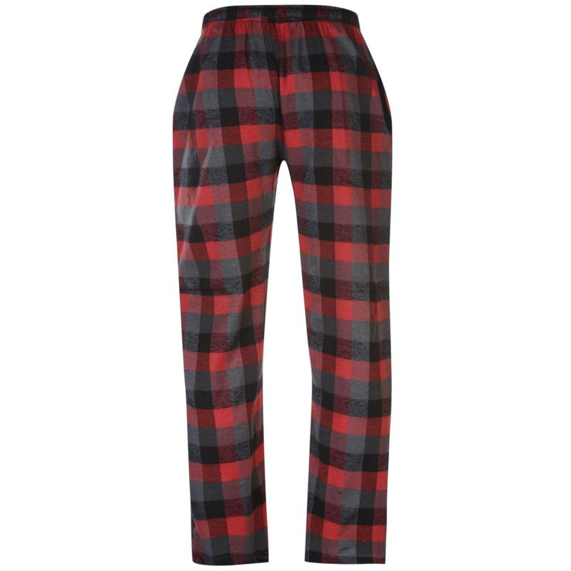 Tepláky Gelert Flannel Pants Mens Red Buffalo Pld