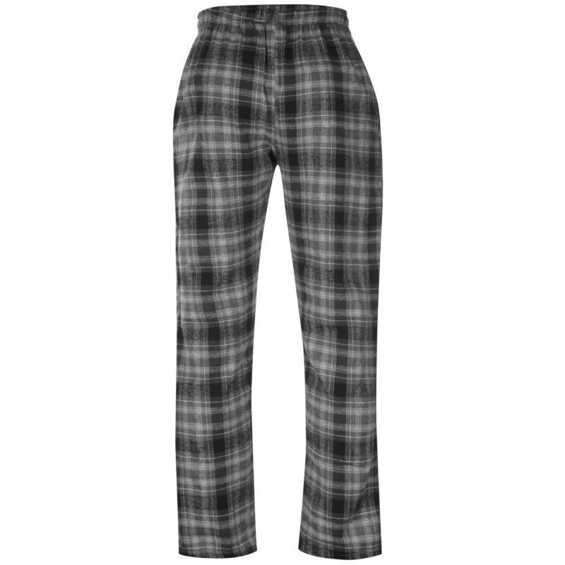 Tepláky Gelert Flannel Pants Mens Chr/Blk Pld