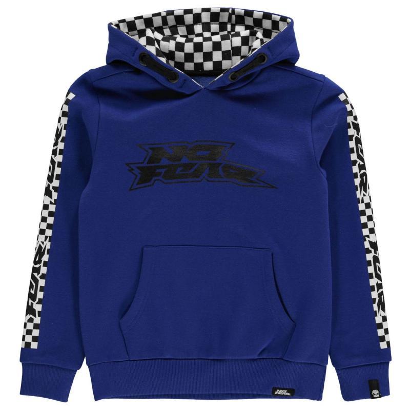Mikina No Fear OTH Racer Hoody Junior Boys Blue