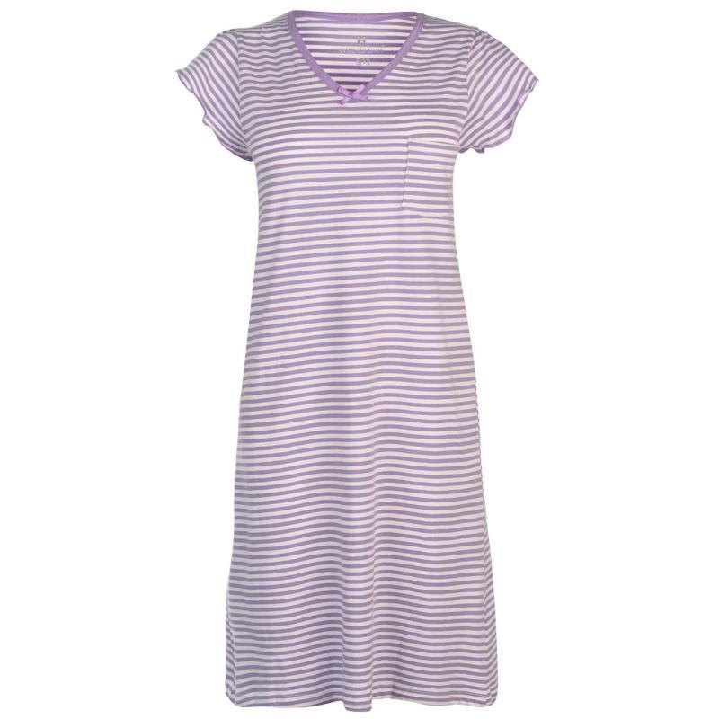Pyžama Cote De Moi Picot Nightdress Ladies Star