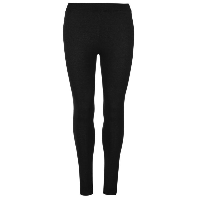 Legíny Miso Plush Lined Leggings Ladies Black