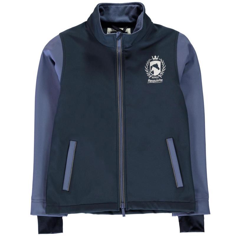 Bunda Requisite Junior Softshell Jacket Teal