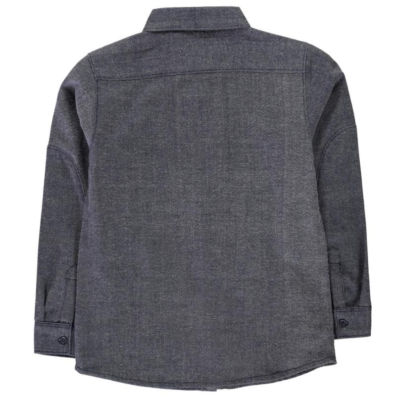 Košile SoulCal Woven Shirt Junior Boys Blue Check