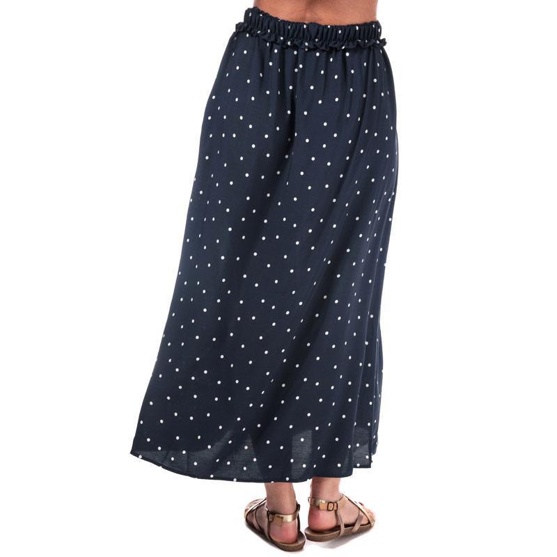 Sukně Vero Moda Womens Beauty Maxi Skirt Navy