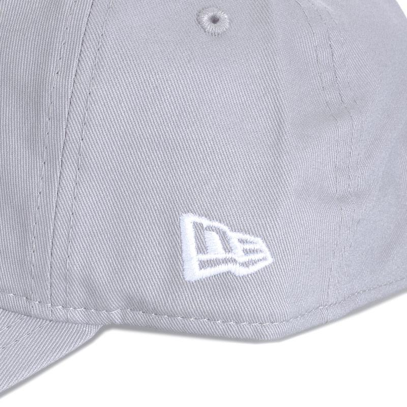 New Era Mens Essential Los Angeles Dodgers Cap Grey