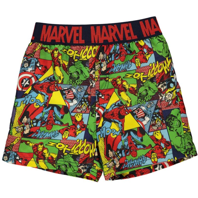 Plavky Character Board Shorts Infant Boys Avengers