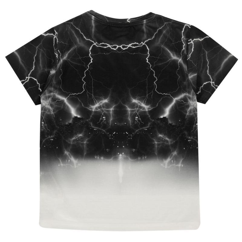 Tričko Firetrap Sub T Shirt Junior Boys Lightening