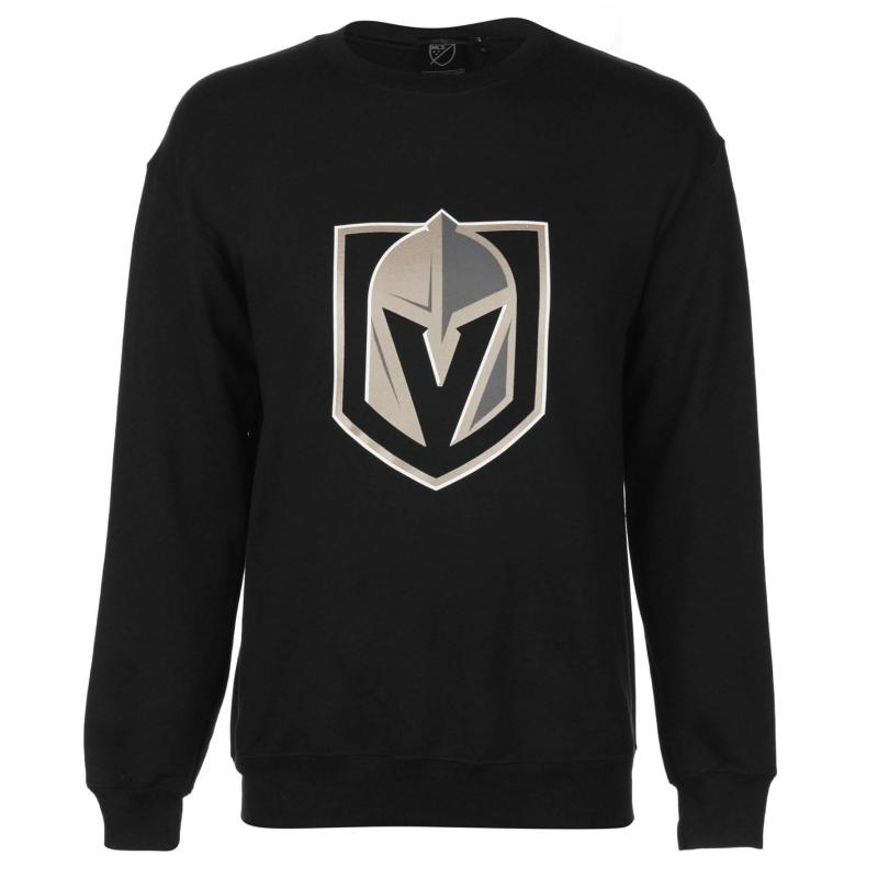 Mikina NHL Logo Crew Sweater Mens Vegas Knights