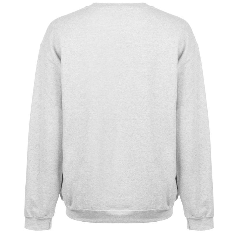 Mikina NHL Logo Crew Sweater Mens NY Rangers