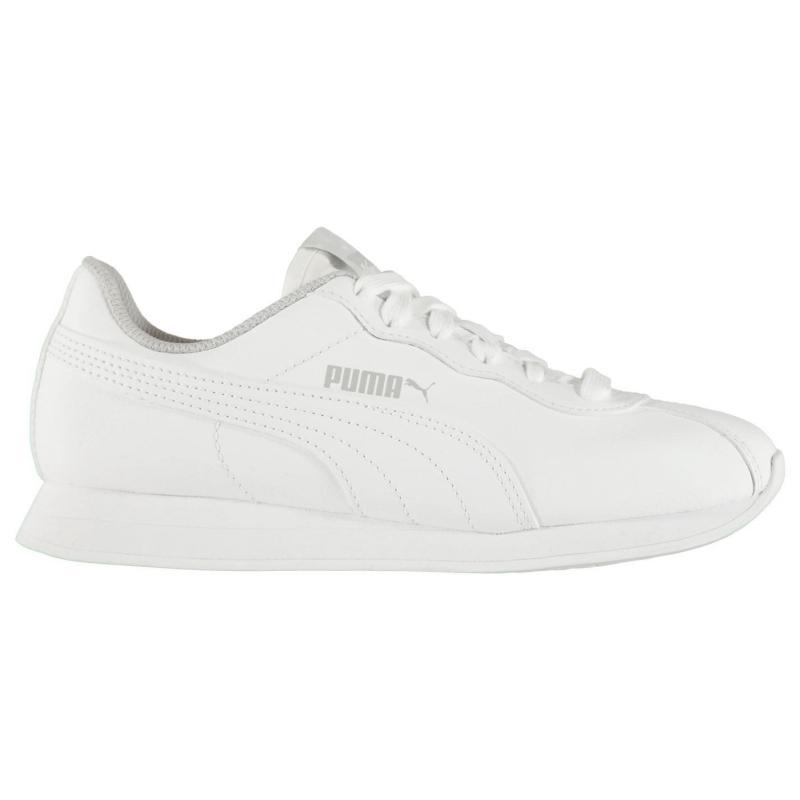 Puma Turin II Juniors Trainers Peacoat/White