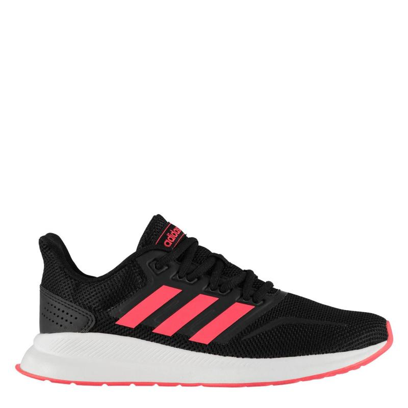 Adidas Runfalcon Trainers Ladies Black/Pink/Wht