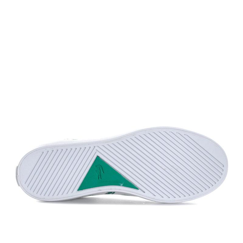 Boty Lacoste Junior Boys Lerond 118 Trainers White Green