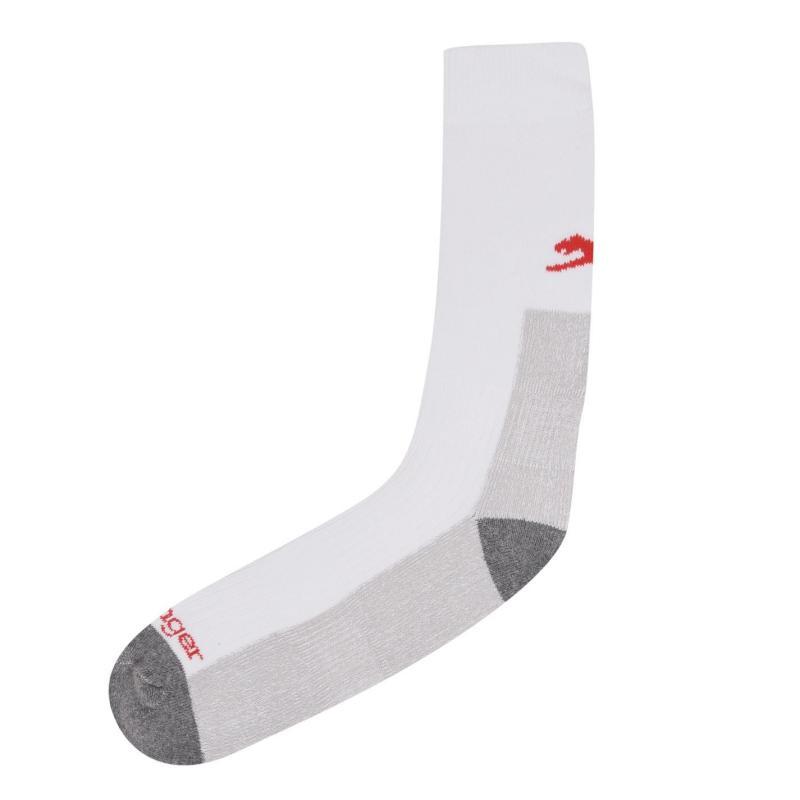 Ponožky Slazenger Cricket Socks Mens Plus White