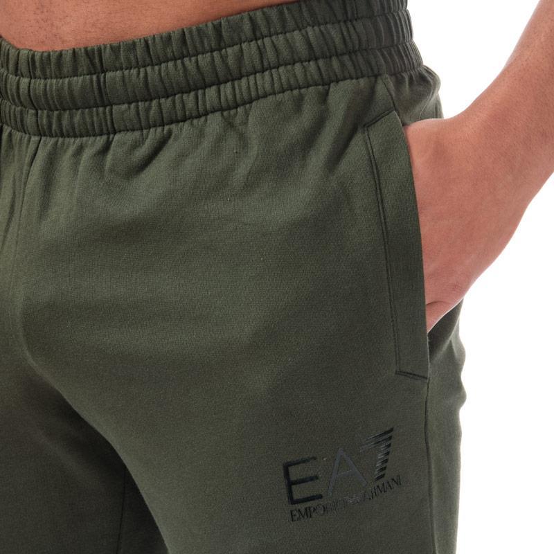 Tepláky Emporio Armani EA7 Mens Train Core ID Fleece Pants Khaki