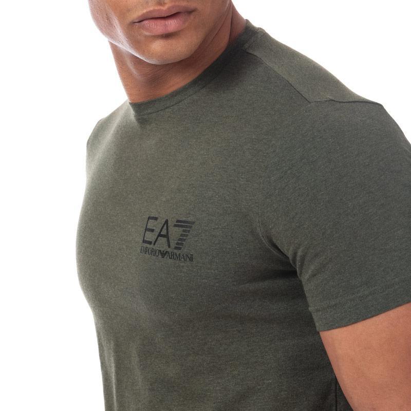 Tričko Emporio Armani EA7 Mens Train Core ID T-Shirt Green