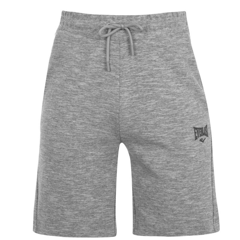 Everlast Fleece Shorts Mens Grey Marl