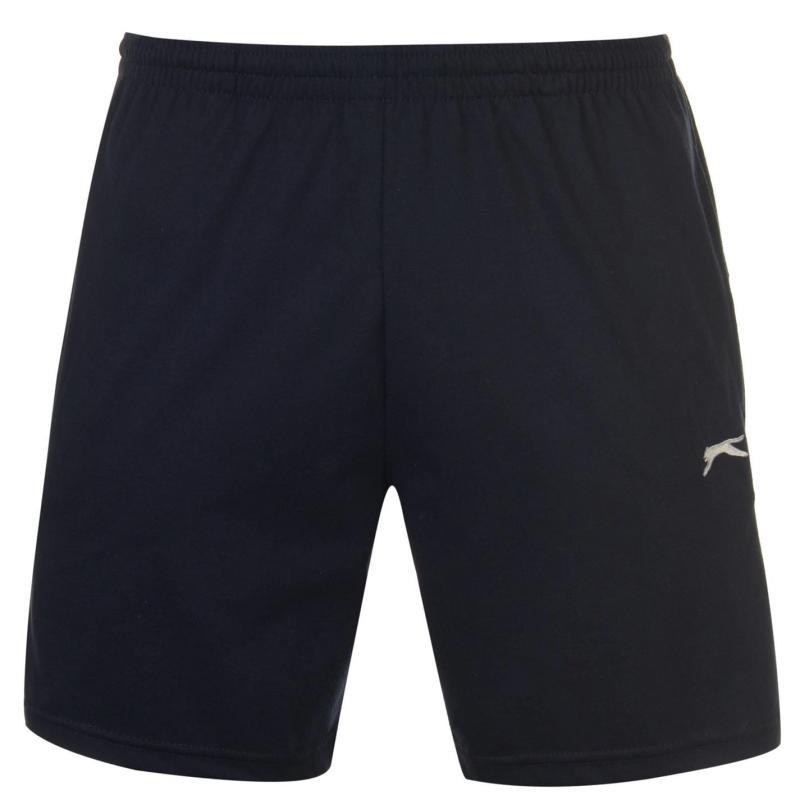 Slazenger Jersey Shorts Mens Navy