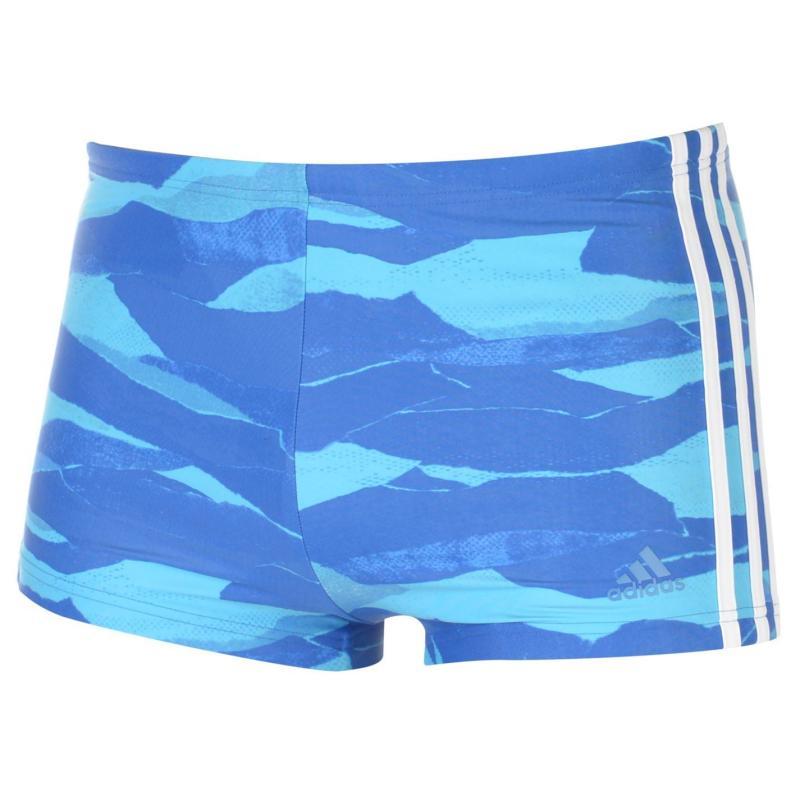 Adidas 3S FIT Swim Shorts Mens Royal
