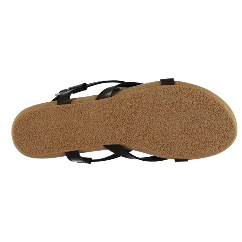 Boty Blowfish Golden Womens Sandals Black