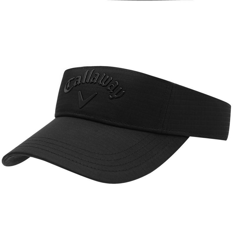 Callaway Logo Visor Mens Black