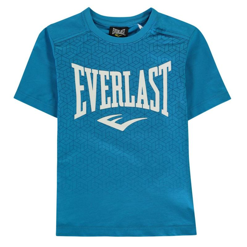 Tričko Everlast Graphic T Shirt Junior Boys Blue