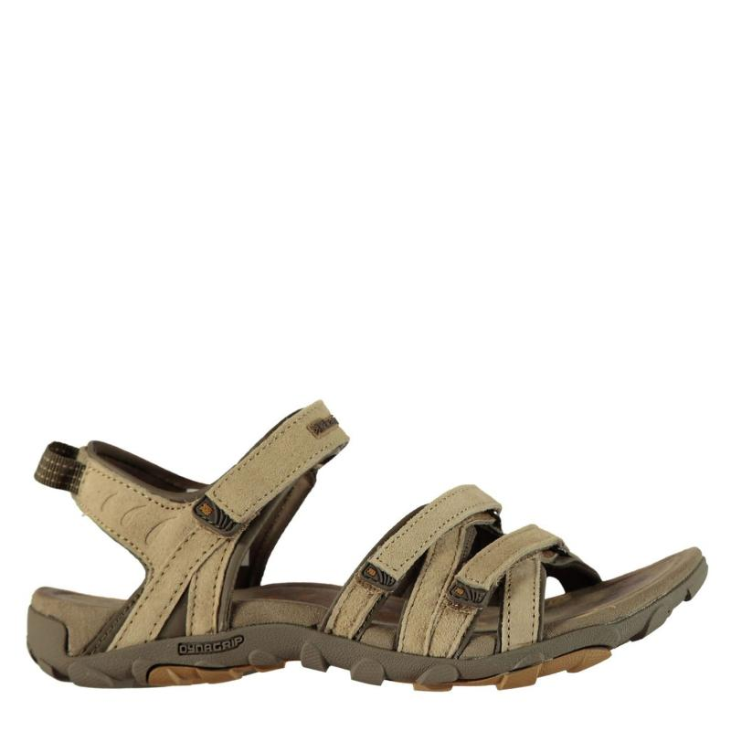 Karrimor Tuvalu Leather Ladies Sandals Brown