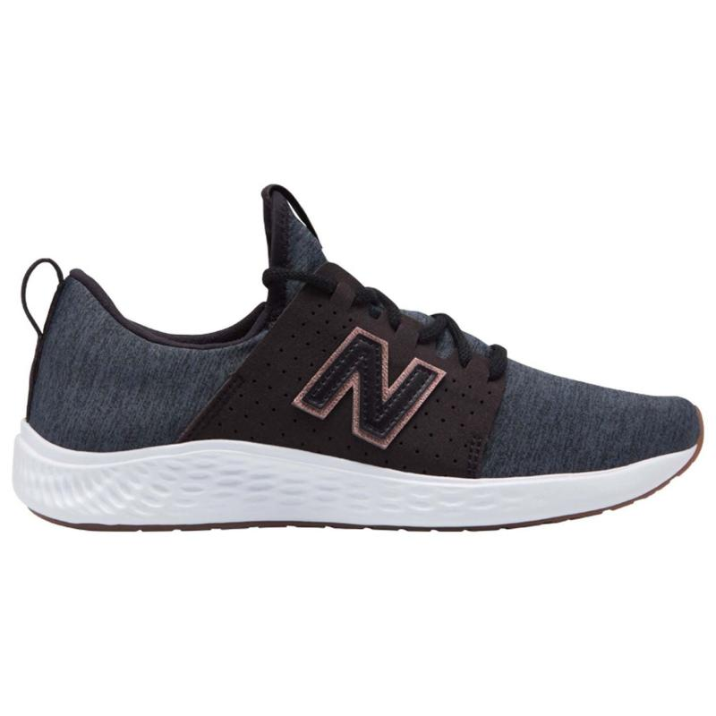 New Balance Fresh Foam Sport Trainers Ladies Black/White