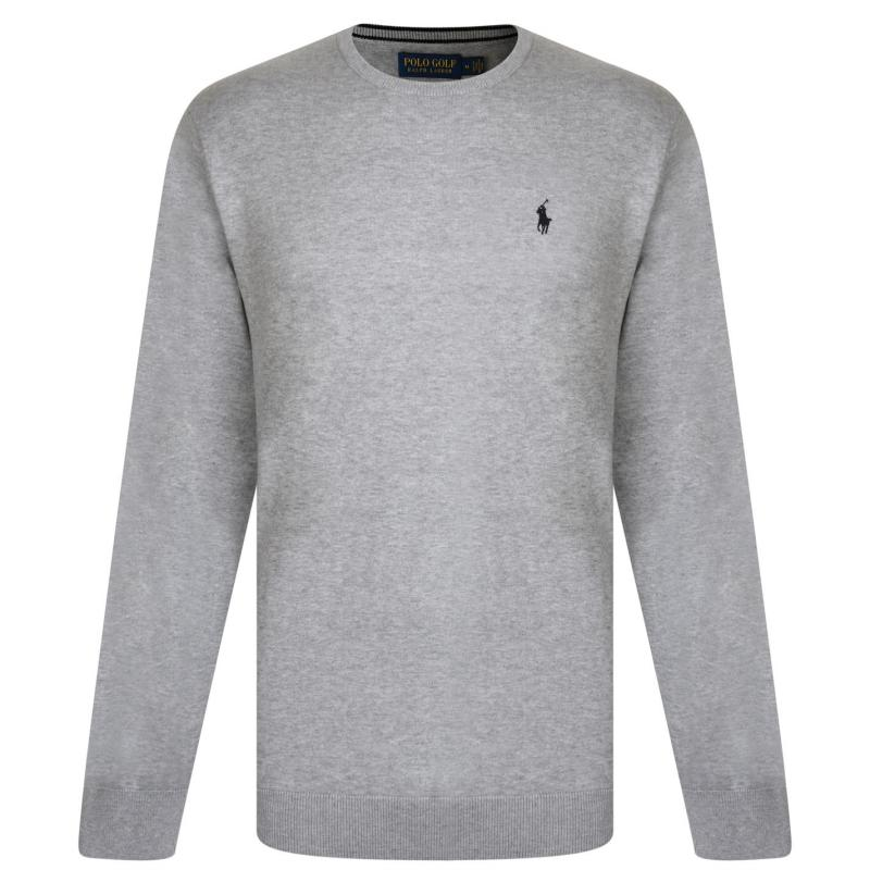 Polo Ralph Lauren Neck Sweatshirt Lt Grey Heather