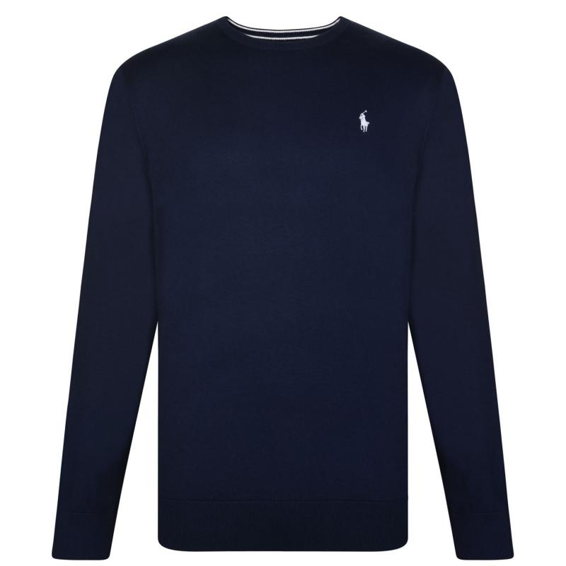 Polo Ralph Lauren Neck Sweatshirt French Navy