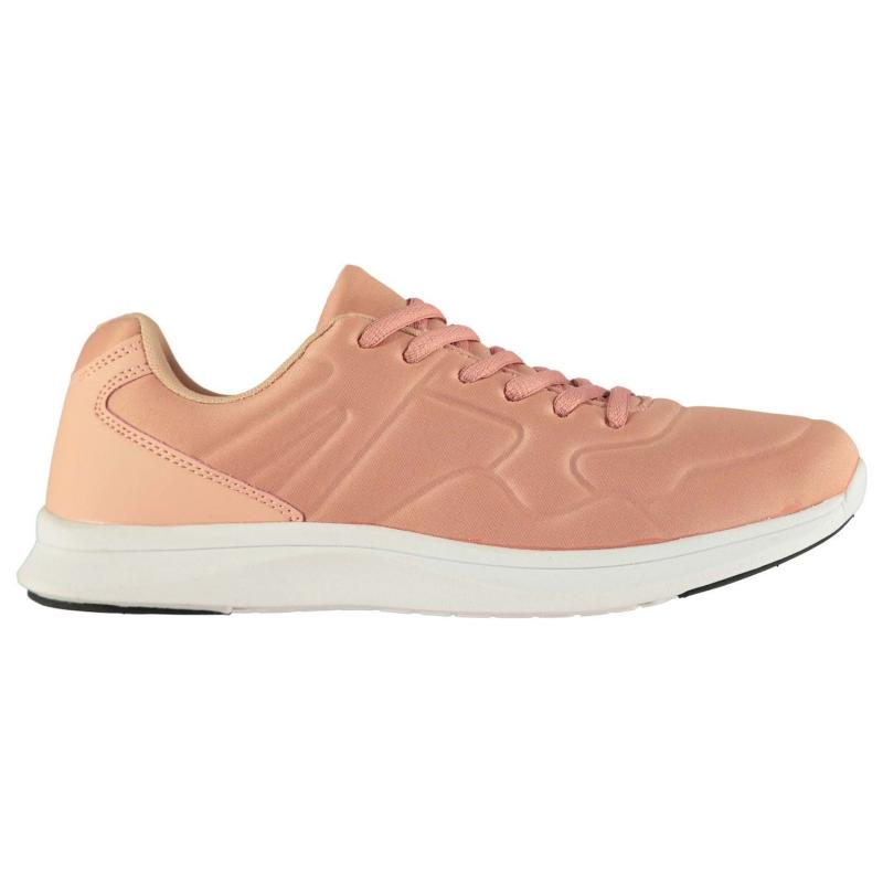 Tapout Corwen Rub Trainers Junior Pink