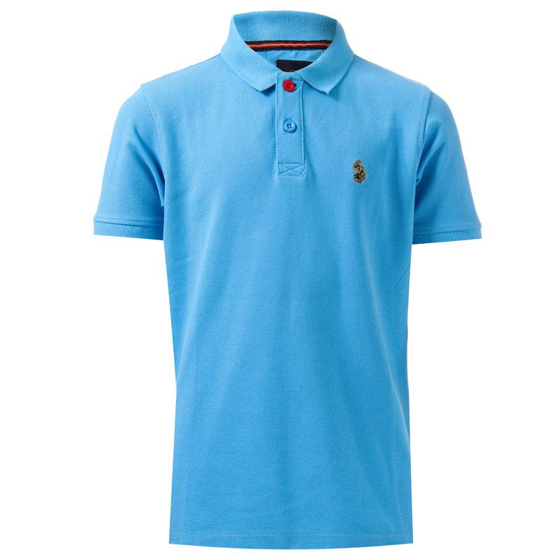 Tričko Luke 1977 Infant Boys Williams Polo Shirt Blue
