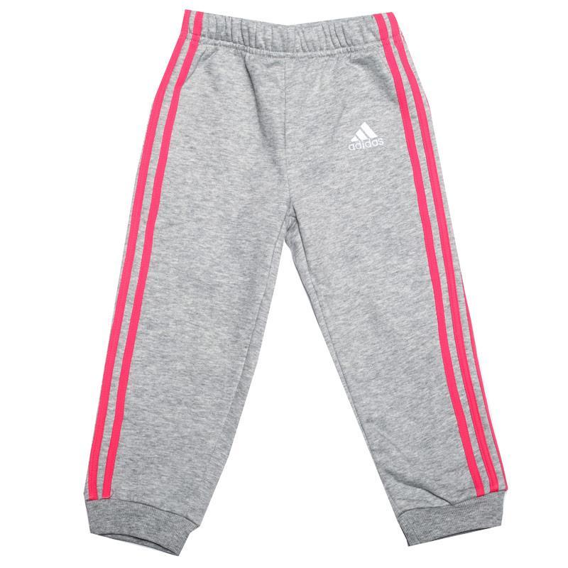 Adidas Infant Girls Favourite Knit Jog Pant Grey Heather