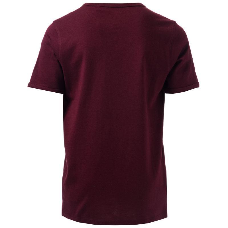 Tričko Luke 1977 Junior Boys Trouser Snake Crew T-Shirt Red
