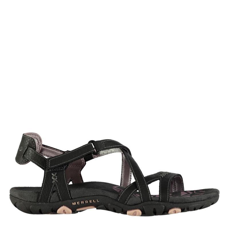 Merrell Sandspur Ladies Sandals Black/Lilac