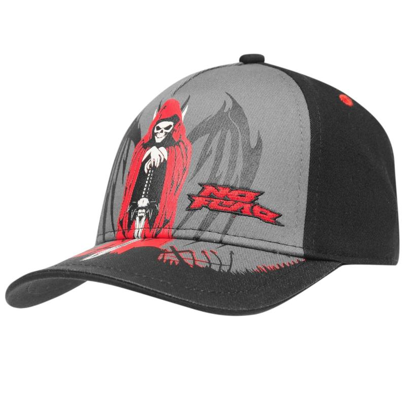 No Fear Baseball Cap Junior Black/Red
