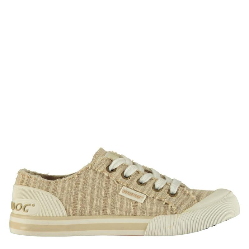Obuv Rocket Dog Jazzin Ladies Canvas Trainers Cascade