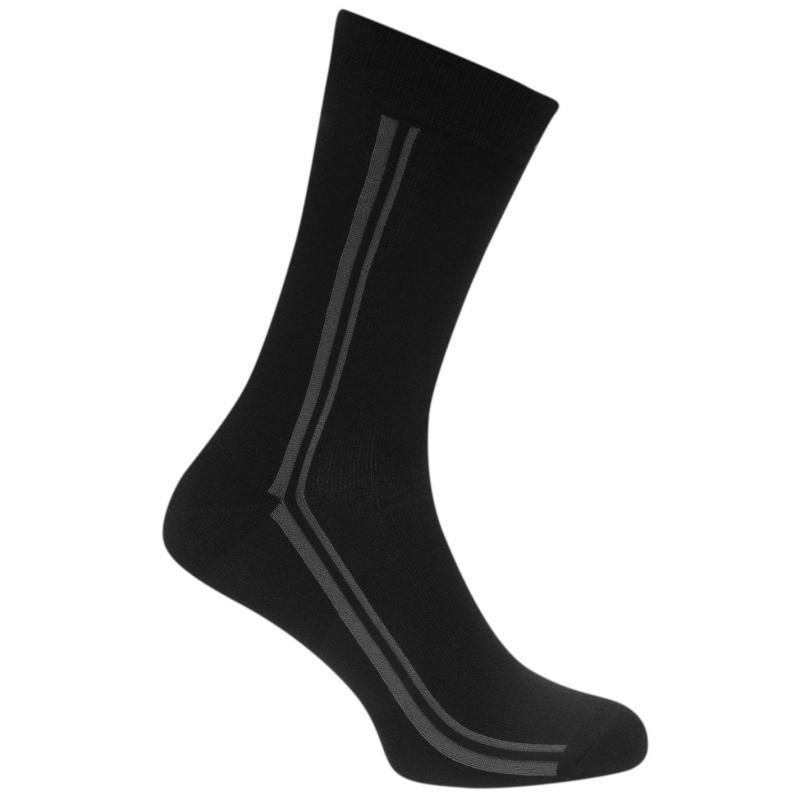 Ponožky Ben Sherman 3 Pack Socks Mens Black
